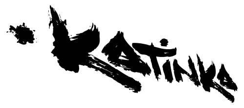 katinka logo schwarz freistehend